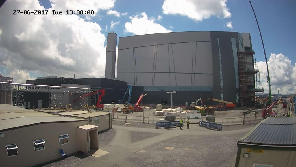 alexion pharmaceuticals construction progress by Evercam construction time lapse cameras