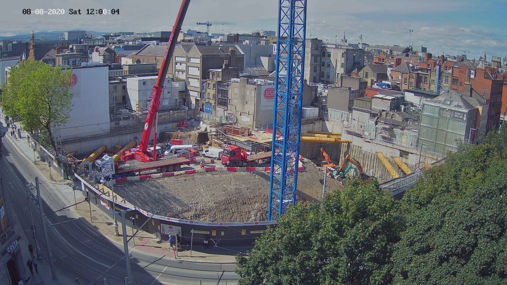 """Camera 1 view of the """"Kells Project"""" construction site"""