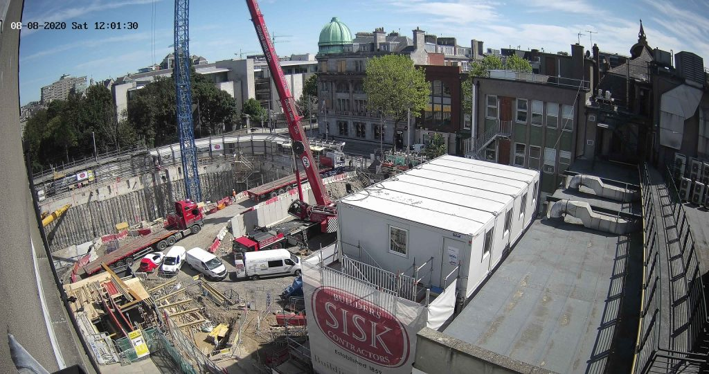 """Camera 2 view of the """"Kells Project"""" construction site"""