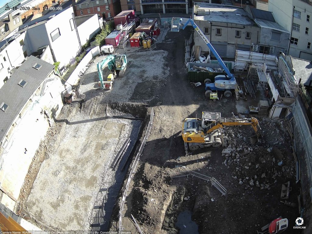 Camera View of RIAM Construction Site